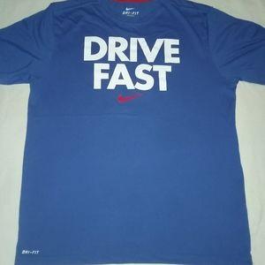 Large. Nike Dri Fit. Drive Fast tee.
